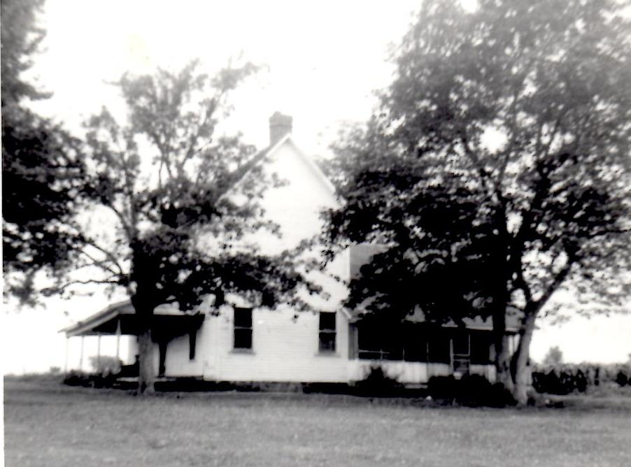 Copeland home place on Cane Hill near Lincoln Arkansas