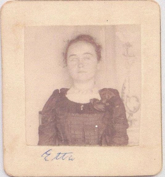 Etta Burleson daughter of Nathaniel & Emily Jane Burleson