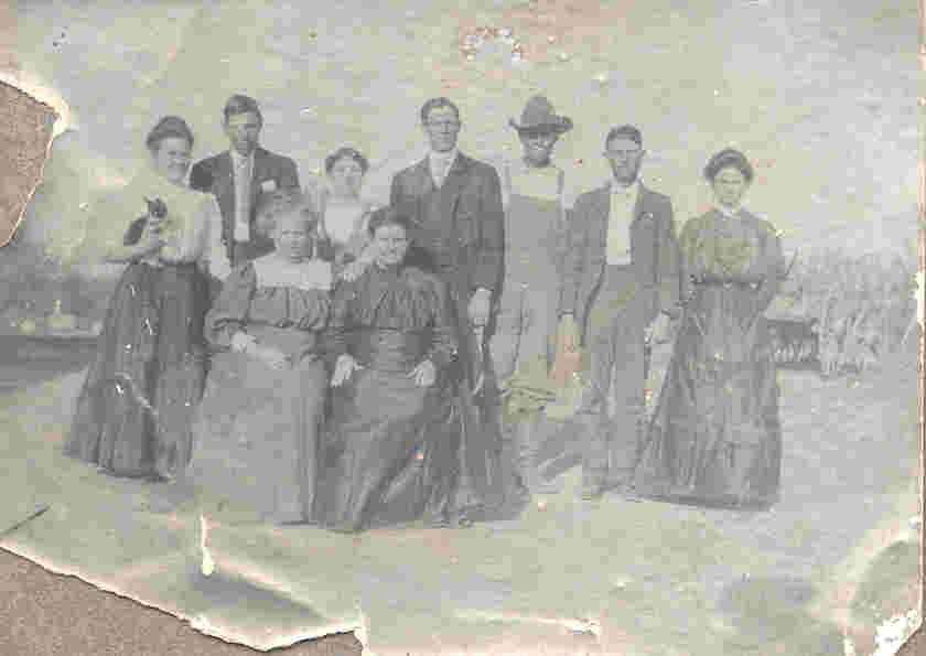 Picture of Muse or Jones family of Willie Ann (Porter) Fisher