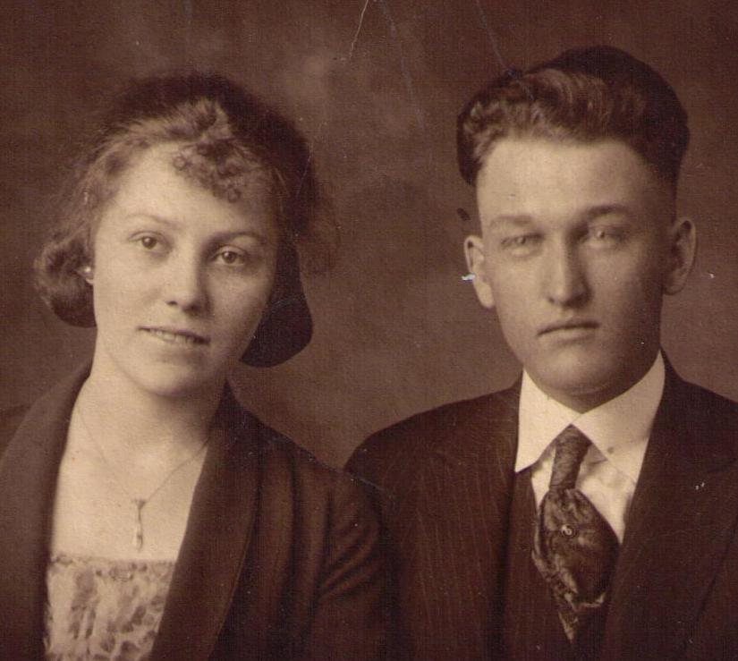 George & Billie Dye 1920's
