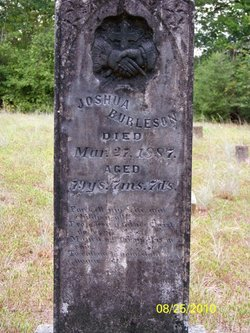 Joshua Martin Burleson 1807-1887 son of david Franklin Burleson