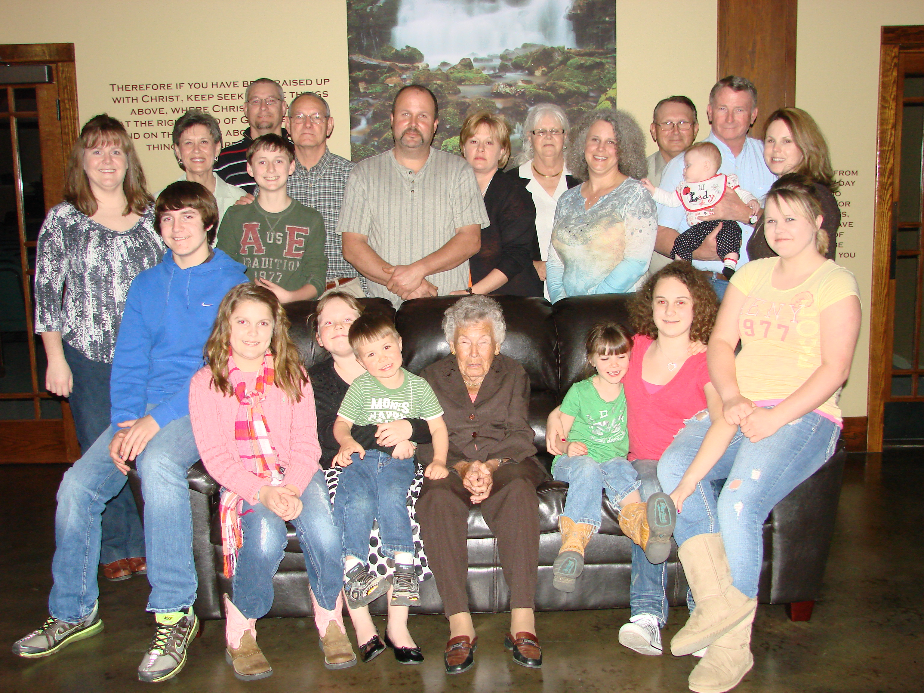 Margaret & Sam Davis Family in Ark.