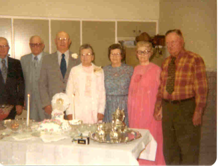 N.E. & Alice Bergstrom's 50th Wedding Anniversary