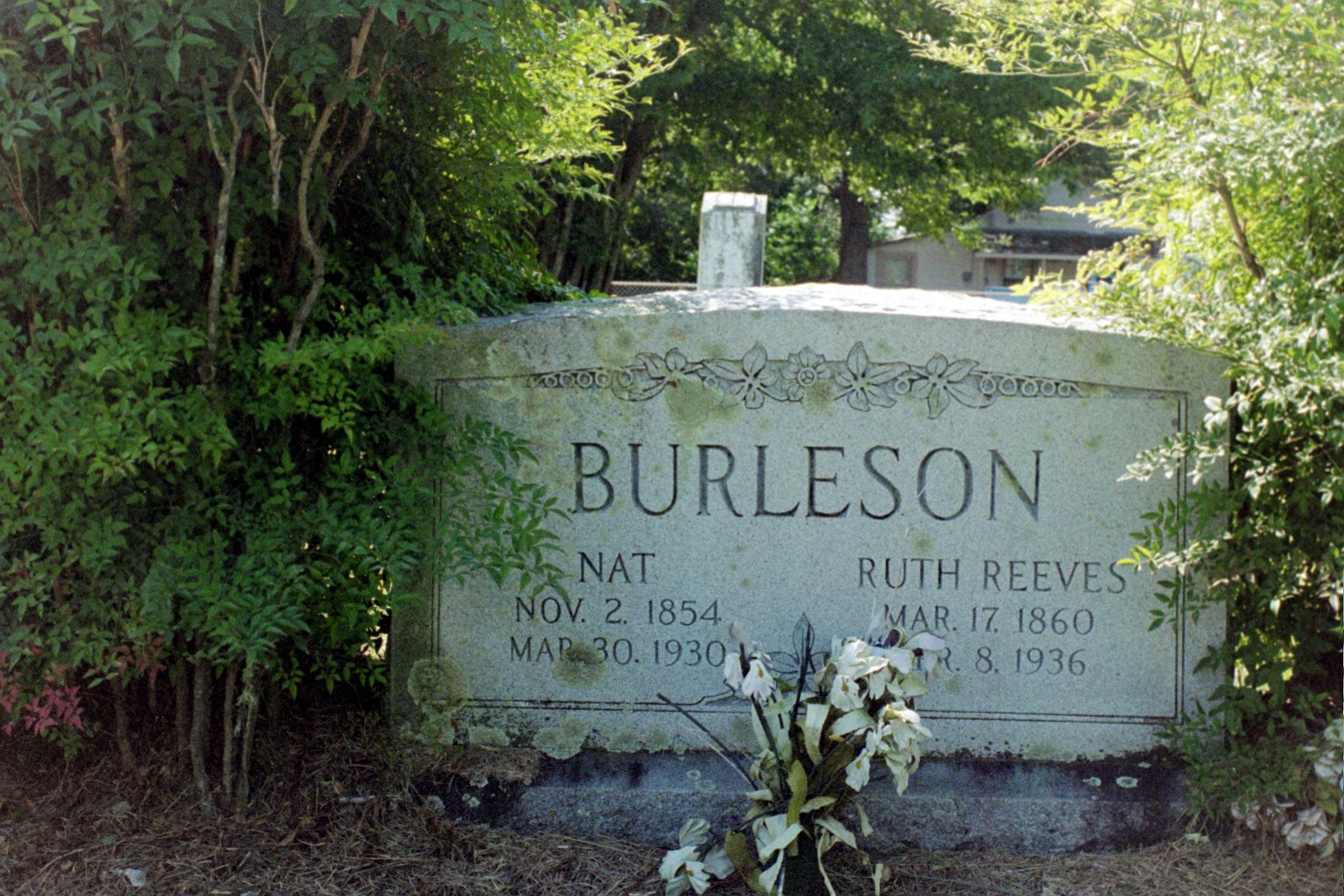 Nathinal Burleson and second wife Ruth Reeves Marker in Pt.Enterprize, Mexia,TX.