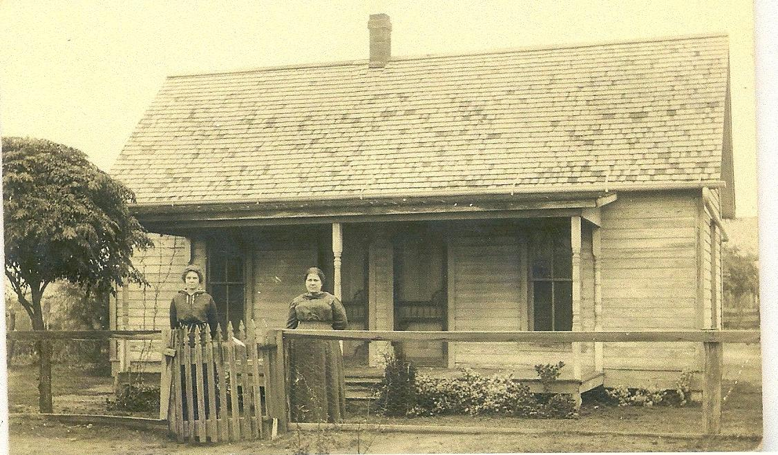 Ruth & Sally Millers Home -Sally is Sister to Nancy Elizabeth (Burleson) Davis