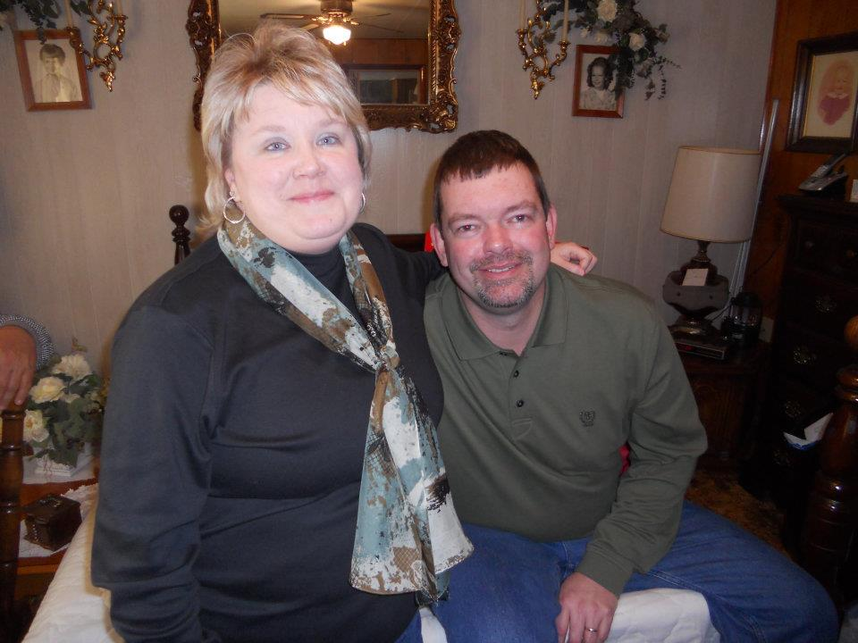Sharon McClanahan Mullins and husband