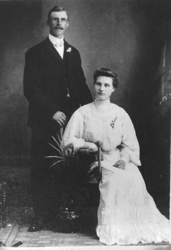 Gus & Cecelia Bergstrom's Wedding June 24, 1905