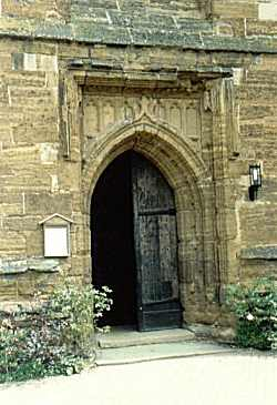 ST. Lawrence Church Door