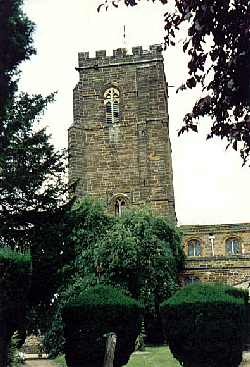 ST. Lawrence Church at Towcester England Where Richard Lord and his wife Joan Bird Lord attended