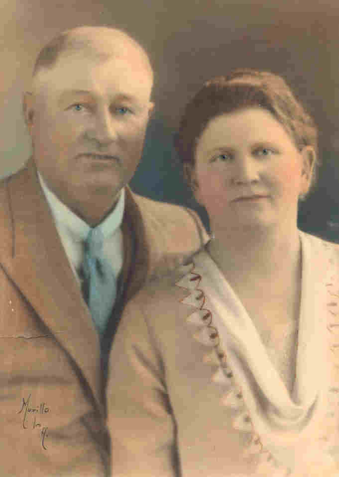 Max Hugo & Willie Fisher, Parents of Minne Alice Bergstrom