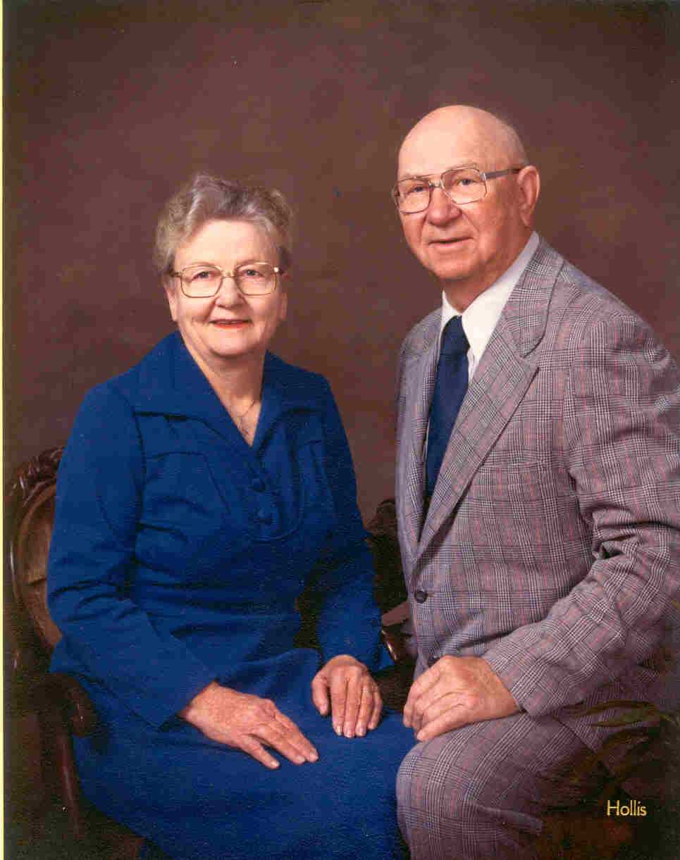 Minni Alice & Norris E. Bergstrom 50th. Ann. picture.