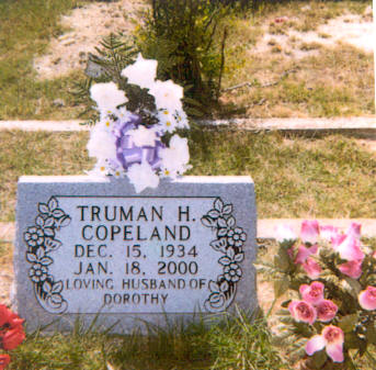 Truman is buried next to Mother and Dad.